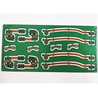 Buy cheap Rigid-Flex  Green Soldermask Electronic Printed Circuit Board with ENIG / HASL product