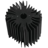 Buy cheap Drilling Bronze Aluminum Notebook Cooler Heatsink Extrusion Profiles Industrial With CNC Machining product