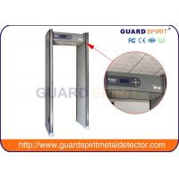 Buy cheap Portable Super Door Frame Metal Detector Body Scanner , Banks Airport Security Detectors product