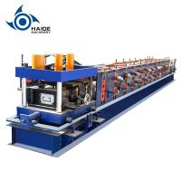 Buy cheap Automatic Touch Screen CZ Purlin Roll Forming Machine For Galvanized Metal Steel Sheet product