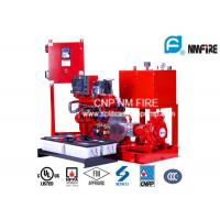 Buy cheap End Suction Centrifugal Diesel Engine Driven Fire Pump With 44kw Max Shaft Power product