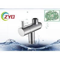Buy cheap Stainless Steel Shower Head Diverter Valve Silver Nickle Plating Finish product
