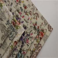 Buy cheap Plain Multi Colored Upholstery Fabric Beautiful Pineapple Printed product