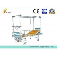 Buy cheap Steel Bed Frame Double Column Hight Adjustable Orthopedic Traction Bed With Turning Table (ALS-TB03) product