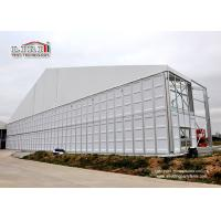 Buy cheap 50m Width Clear Span Tents With ABS Walls For Church Event In Africa product