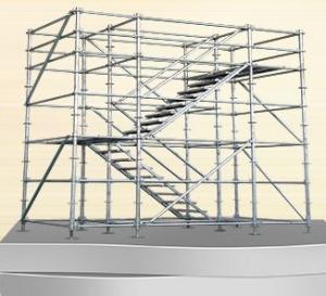 Buy cheap Échafaudage d'ADTO Ringlock pour la plate-forme ou le système de support de fonctionnement product