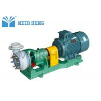 Buy cheap Fluorine Plastic Centrifugal Chemical Pump Horizontal Electric Chemical Resistant product