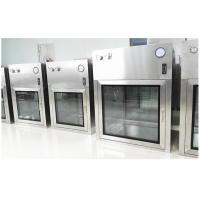 Buy cheap Customized SUS304 Dynamic Cleanroom Pass Box For Pharmaceutical GMP Workshop product