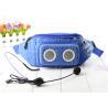 Buy cheap Sky Blue Waist Belt Bag letter pattern 800 Mah Lithium Battery radio BM-30 from wholesalers