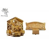 Buy cheap Gold Plastic Casket Accessories , American Style Funeral Coffin Fittings Suppliers product