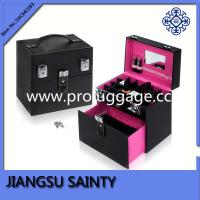 Black PU Professional carrying case for nail