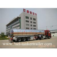 China Tri - axle Fuel Tanker Trailer FOR oil transportation tanker wholesale