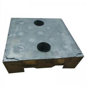 China Wear Resistance 62HRC 65HRC Bi Metal Box Casting For Mining on sale