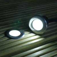 Buy cheap 6 WHITE SOLAR POWERED OUTDOOR GARDEN DECK LIGHTS for swimming pool deck product