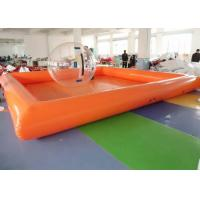 China ODM Human Size Hamster Ball Large Blow Up Swimming Pools For Family on sale