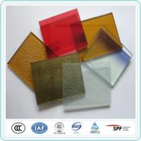 Buy cheap Safety Decoration Art Laminated Glass 12mm Coloured Sheet For Commercial Building product