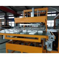 Buy cheap Fully automatic White plastic Styrofoam disposable takeaway food box machine product