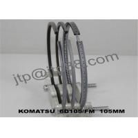 Buy cheap Stainless Steel Piston Rings 6D125 / Small Piston Rings 6137-31-2040 product
