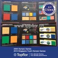 Official Table tennis sports flooring for 2016 Olympic Games