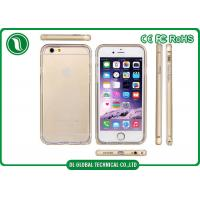 China Soft TPU iPhone 6 Back Case Cover , Mobile Phone Case with Metal Frame on sale