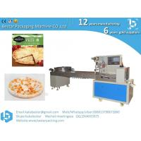 Buy cheap Kobe pizza frozen packaging automatic food flow packaging machine product