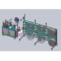Buy cheap Semi-Automatic KN95 Mask Production Line from wholesalers