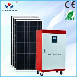 Buy cheap centrale solaire de l'économie 5kw chauffant l'énergie solaire solaire de générateur de maison de système d'alimentation solaire avec le prix bon marché TY082B from wholesalers