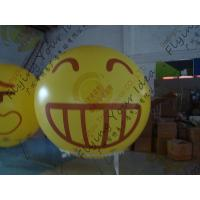 Buy cheap Amazing Round Inflatable Advertising Balloon Attractive Smile Design product