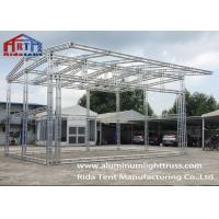 Buy cheap 6082-T6 Silver High Hardness Aluminum Light Truss For Concert / Fashion Show from wholesalers