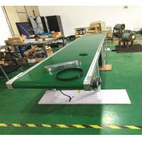 Buy cheap Automatic Industry Flat Green PVC Belt Conveyor Transfer Systems With CE Passed from wholesalers