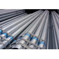 China Hot Dip Welding Galvanized Steel Pipe Square / Rectangular / Round Section Shape on sale