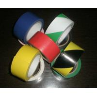 Buy cheap Polyvinyl And Rubber Adhesive Pvc Warning Tape For Building Or Traffic Protection product