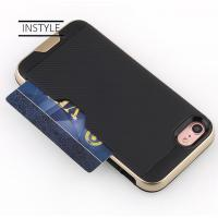 Buy cheap High Rigid Plastic PC Protective Mobile Phone Cases With Card Holder for iPhone X product