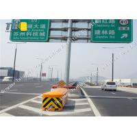 Buy cheap Yellow Highway Crash Cushion Barrier Anti Impact 2560mm X 1220mm X 900mm product