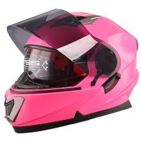 China DOT approved flip up motorbike cascos Modular motorcycle Helmet with sun shield on sale