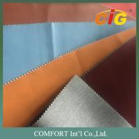 China Classic Surface Wet PU Leather / PU Synthetic Leather  Thickness 0.8 - 1.0mm on sale