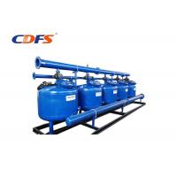 Buy cheap 2 - 8 Bar Pressure 24 Inch Sand Filter, PLC Control Stainless Steel Filter product