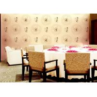 Buy cheap Chinese Works And Patterns Room Decoration Asian Inspired Wallpaper With PVC Material For Hotel from wholesalers