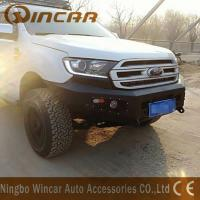 Buy cheap Standard Size Steel Front Bumper Replacement Black Color For Ford Everest from wholesalers
