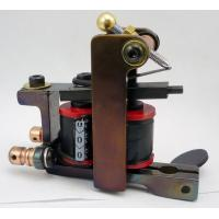 China High - Grad Professional Handmade Tattoo Machine With Magnetic Coil on sale