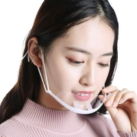 Buy cheap Clear ABS PET Hygiene Face Mask For Reception Staff from wholesalers