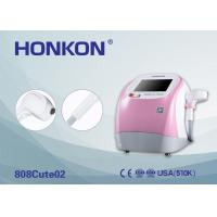 Buy cheap Pink 300W Portable 808Nm Diode Laser Beauty Machine For Permanent Hair Removal product