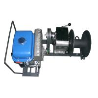China JJM1Q 1 Ton Lifting Cable Winch Puller / Gas Powered Winch 15m / min wholesale