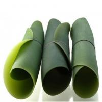 FDA approved rolling up silicone dish silicone leaf plate