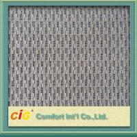 Quality Woven Custom Vehicle Grey Upholstery Fabric for Seat Cover / Lining for sale