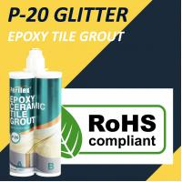 Buy cheap Glitter Epoxy Tile Grout Stain Resistance Anti Mould 24 Months Shelf Life product