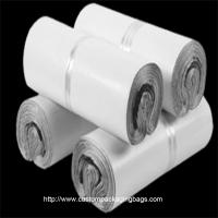 Buy cheap white Plastic Material Poly Mailing Bags Gravure Printing Lightweight For clothes product
