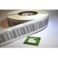 Buy cheap Supermarket Anti Theft Printing EAS RF Soft Label RFID Labels With Barcode product