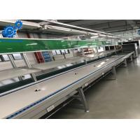 Buy cheap Aluminium Profile Electronics Assembly Line With PU Belt Conveyor / Workbenches product