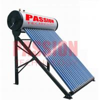 Buy cheap 250L Compact Pressurized Evacuated Tube Integrated Solar Water Heater for Home product